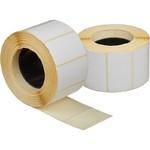 Самоклеющиеся, термотрансферные этикетки (полуглянец) 43мм х 25мм х 1000шт
